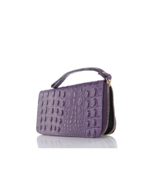 Martina 66 Wallet & Wrist-let Purple