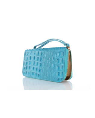 Martina 66 Wallet & Wrist-let Turquoise
