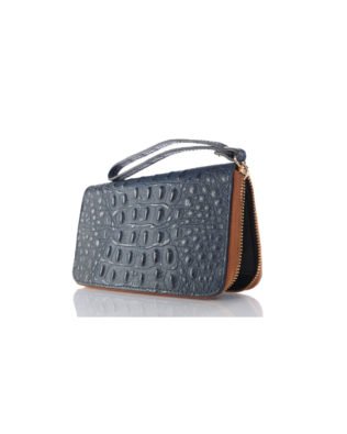 Martina 66 Wallet & Wrist-let Navy/Saddle